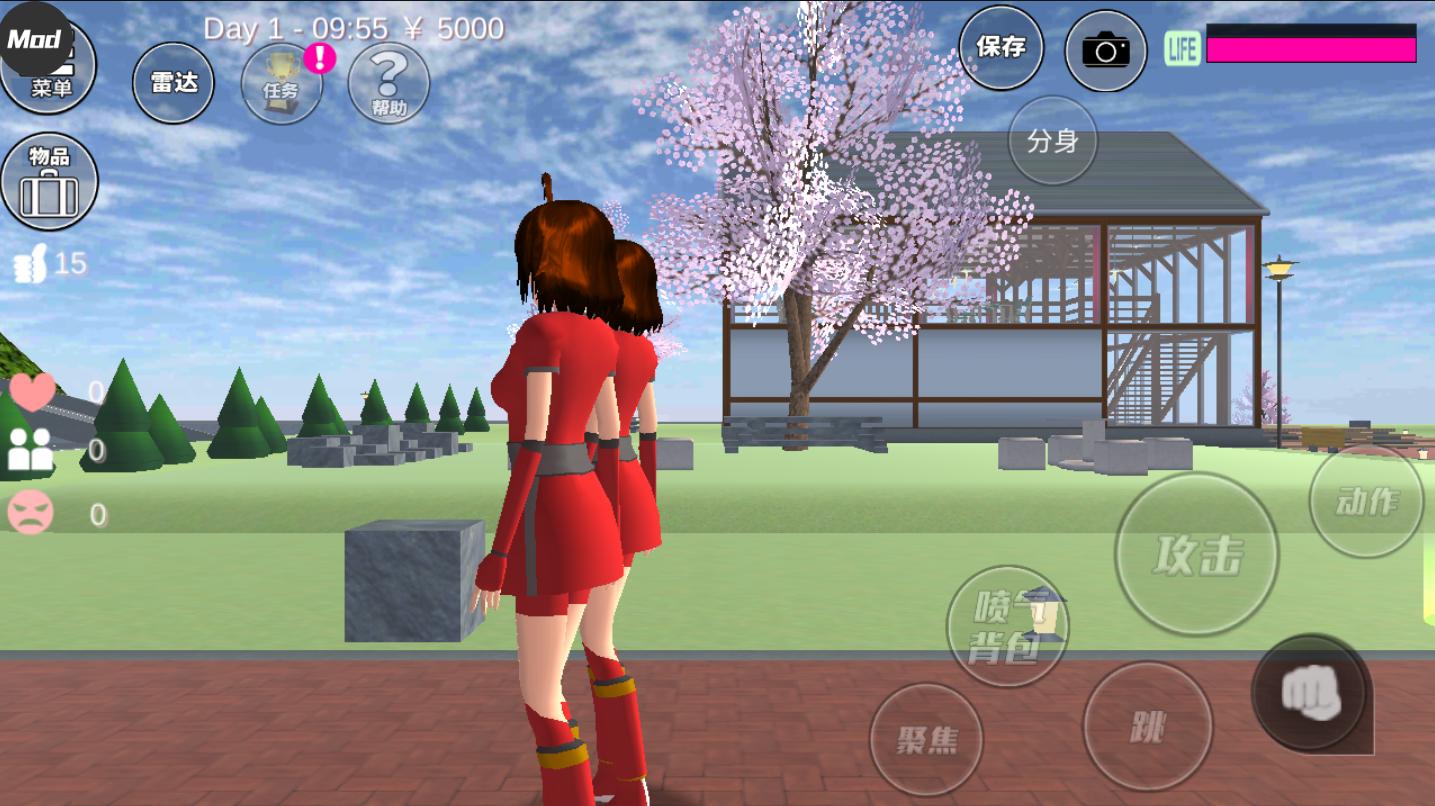 樱花校园模拟器皇宫版(1)