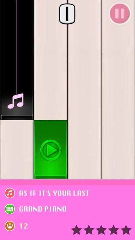 blackpink钢琴块(2)