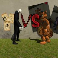 瘦长鬼影vs玩具熊